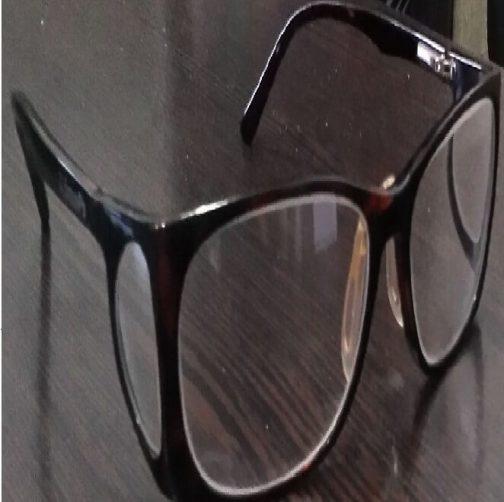 عینک سربی بغلدار با فریم رنگی